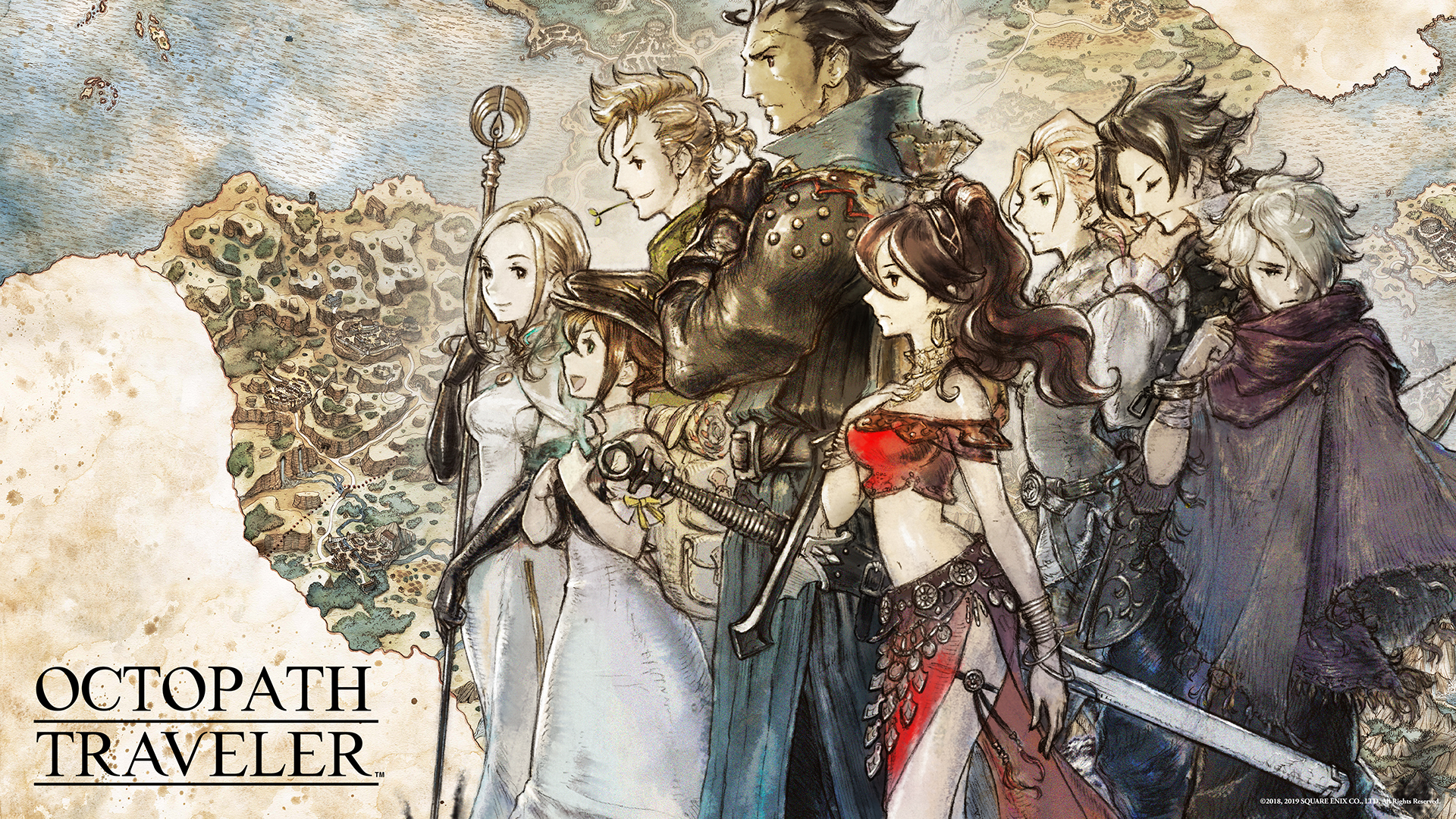 Test Octopath Traveler PC