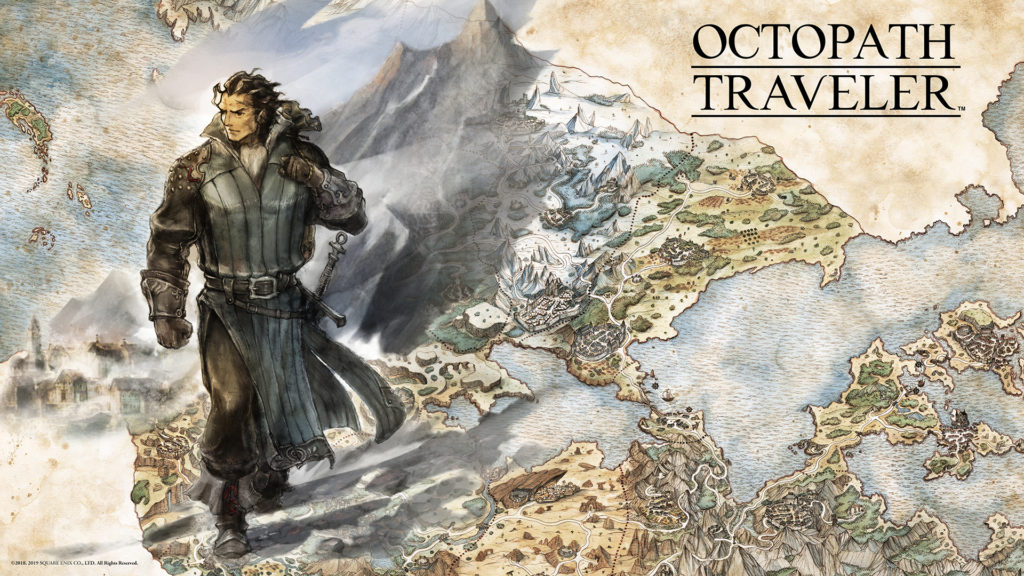 test Octopath traveler Olbéric