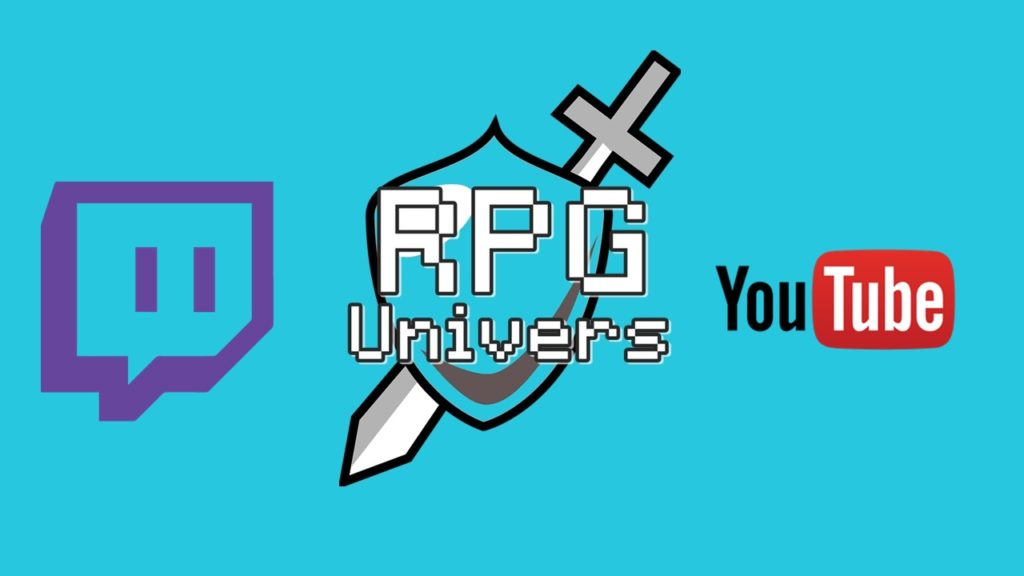 rpg univers twitch et youtube