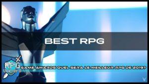 Game Awards: Quel sera le meilleur RPG de l'année 2019?