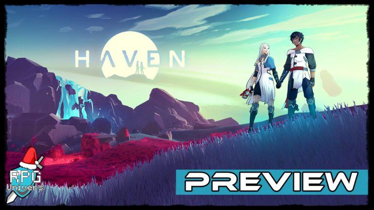 Haven: découverte d'un monde inconnu (preview)