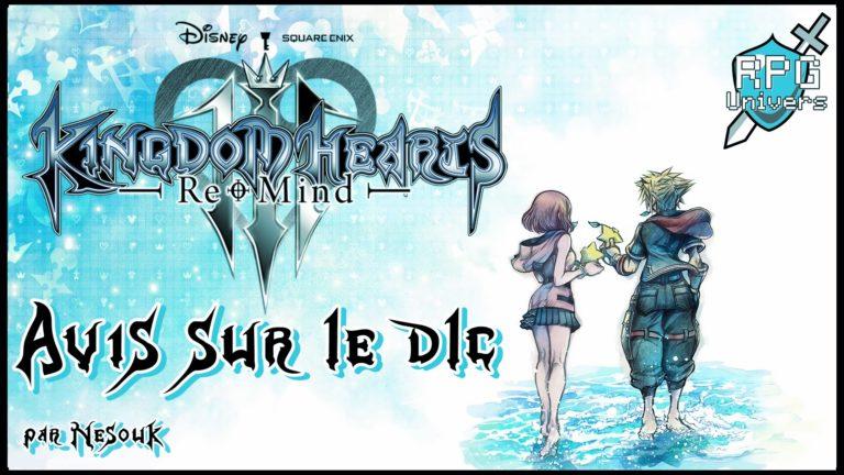 Avis sur Kingdom Hearts III ReMind (DLC)