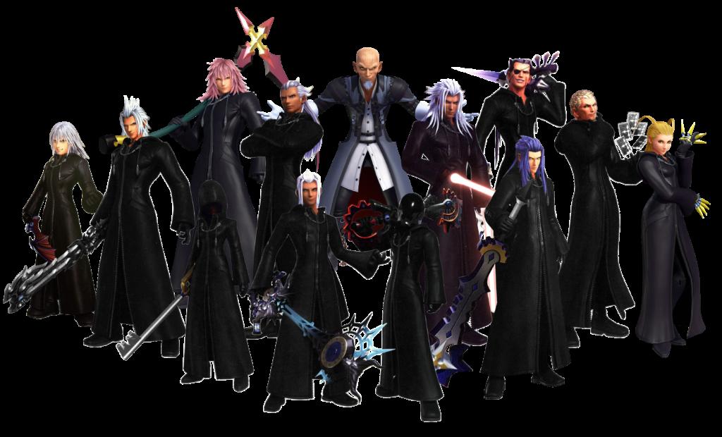 Organisation XIII Kingdom Hearts III ReMind