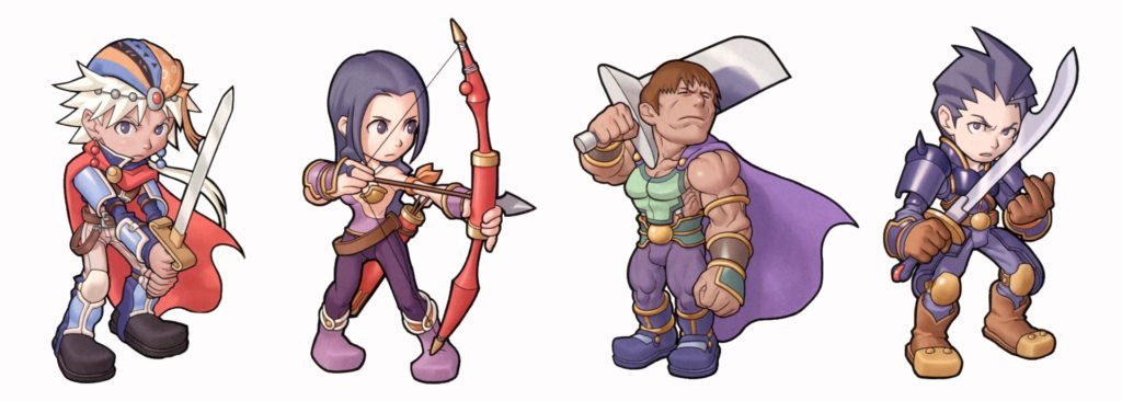 Final Fantasy II personnages