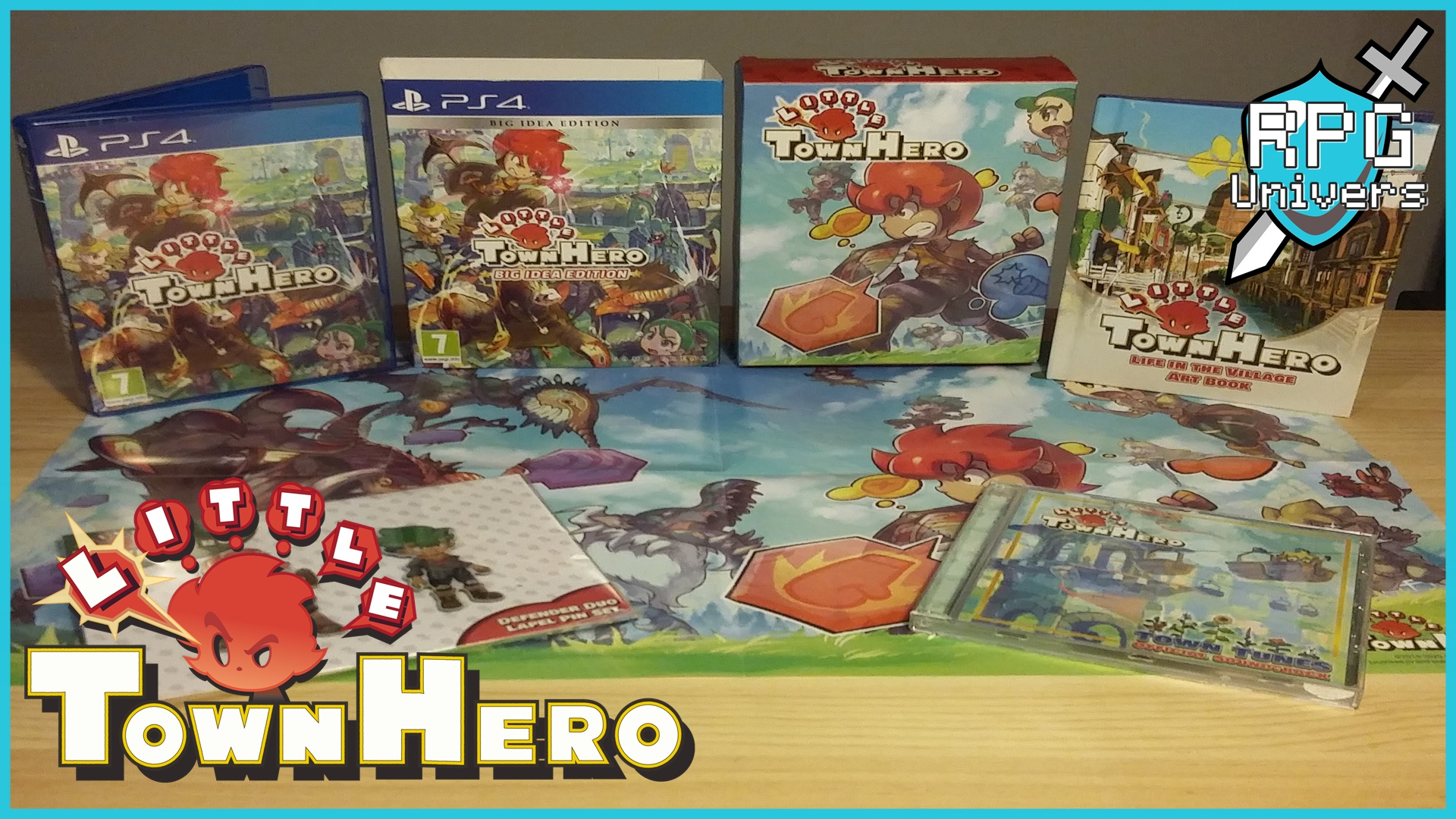 Little Town Hero et son collector Big Idea Edition