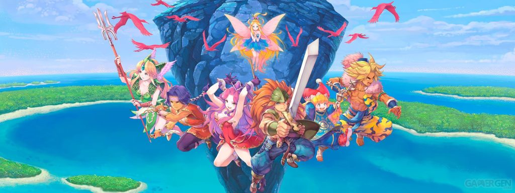 Trials of Mana personnages