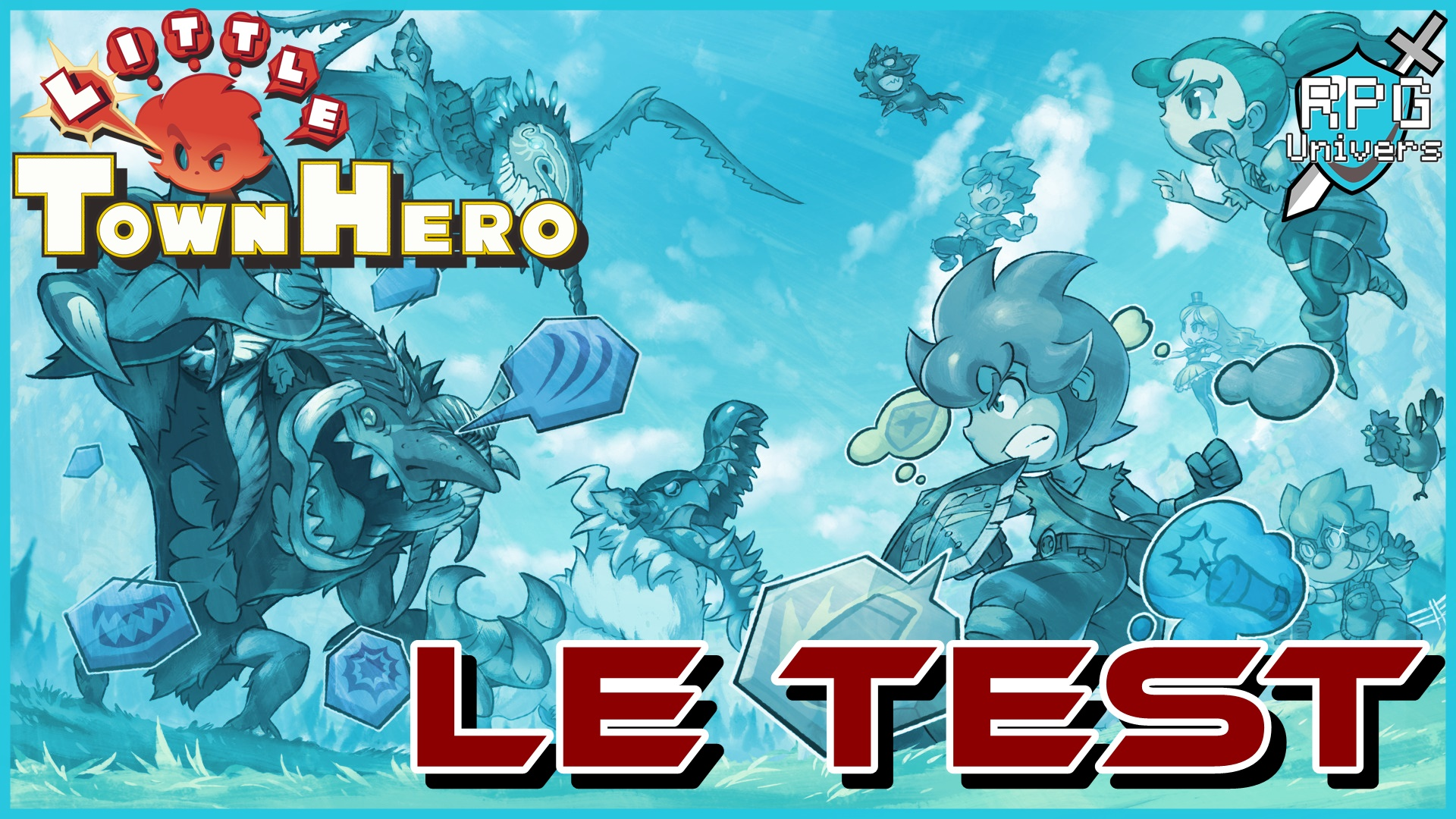 Little Town Hero: le test du nouveau jeu de Game Freak